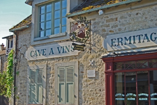 Barbizon-Les restaurants-Cave à vin 1548