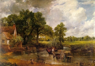 CONSTABLE—-haywain